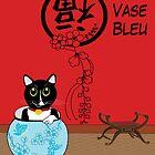 Le Vase Bleu (the blue vase) by 2smartcats