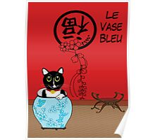 Le Vase Bleu (the blue vase) Poster