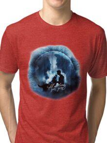 Howling for you - Sterek Tri-blend T-Shirt