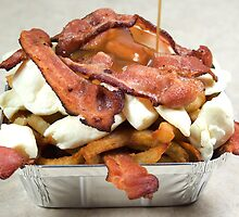 poutine with bacon by scry