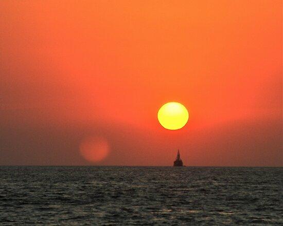 Santanya második Nap az égbolton
