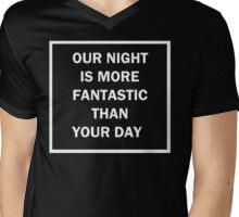 Jeonghan Our Night Shirt Mens V-Neck T-Shirt