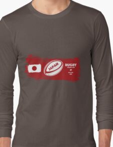 Japan World Cup Rugby Long Sleeve T-Shirt
