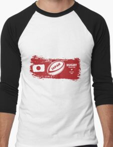Japan World Cup Rugby Men's Baseball ¾ T-Shirt