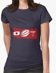 Japan World Cup Rugby Womens Fitted T-Shirt