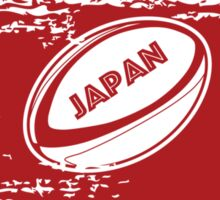 Japan World Cup Rugby Sticker