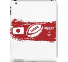 Japan World Cup Rugby iPad Case/Skin