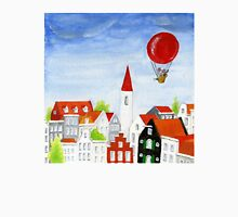 Balloon Mouse & Rooftops Unisex T-Shirt