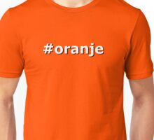 Oranje Unisex T-Shirt