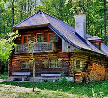 Cottage at Berchtesgaden by Daidalos