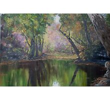 Salt Creek Autumn Photographic Print