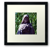 Mary of the Roses Framed Print