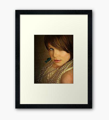 Angelee Framed Print