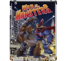 War of the Monsters Cover Art iPad Case/Skin