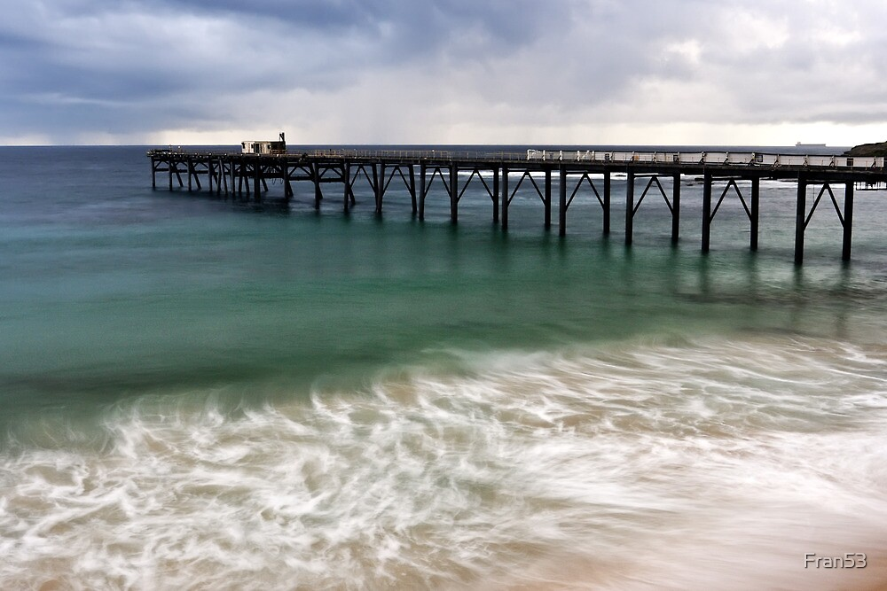 The old jetty at Catho, Australia by Fran53
