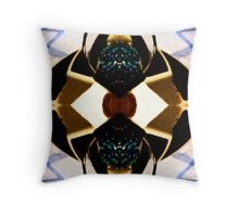 Mirrored glasses and gels Throw Pillow