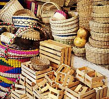 Baskets & crates by Shirley  Poll