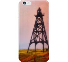 Butte Montana - Sunrise On The Frame iPhone Case/Skin