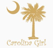 Yellow Carolina Girl Palmetto Moon by PalmettoTrading