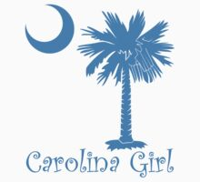 Light Blue Carolina Girl Palmetto Moon by PalmettoTrading