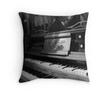 Steampunk Organ Throw Pillow