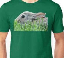 Baby Bunny in the Grass Unisex T-Shirt