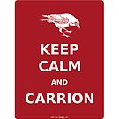 keep calm and carrion crow by olivehue