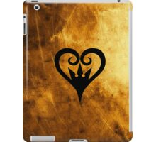 Kingdom Hearts - Heart Crown (Gold) iPad Case/Skin