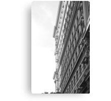 Building in Monochrome Canvas Print