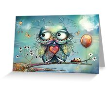 little wood owl Greeting Card