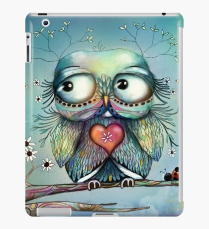 little wood owl iPad Case/Skin