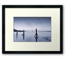 Cool Blue: Kessock Bridge, Inverness Framed Print