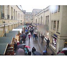 Rainy day in Bath  Photographic Print