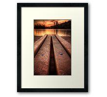 Benchwarmer Framed Print