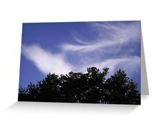 Iridescent Clouds, London, July 2010 Greeting Card