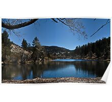 """"""" Tranquility Lake , View #2 Poster"""