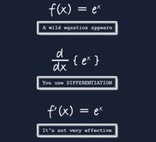 Not Very Effective Maths (Dark Shirt) by Jo Holden