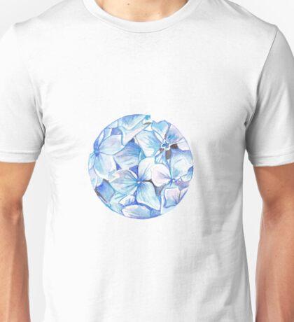 Hydrangeas Unisex T-Shirt