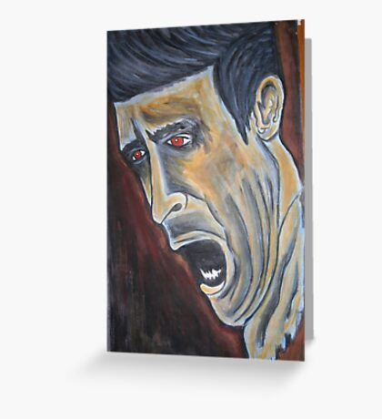 The Pain  Greeting Card