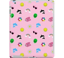 90s Sticker Style! iPad Case/Skin