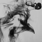 Water & Ink #3 - The Bird by iamelmana