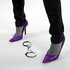 Purple Heels by Steve Small