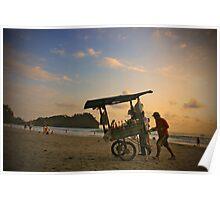 Ocean market Poster