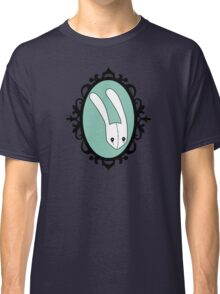 Teal Bunny -Framed Classic T-Shirt