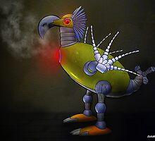 Mechanical Bird by kenmo