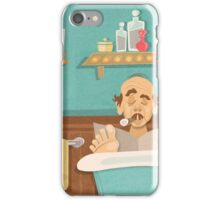 "Carousel of Progress - Uncle Orville - ""No Privacy!"" iPhone Case/Skin"