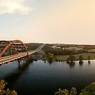 Pennybacker Bridge at Sunset by Andy Heatwole