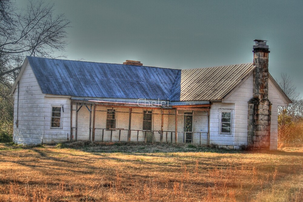 Another Abandoned Farm House.... by Chelei