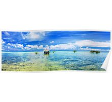 Tropical panorama Poster