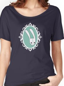 Teal Bunny -Frame Women's Relaxed Fit T-Shirt